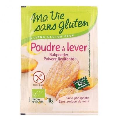 Praf de copt BIO fara gluten, fara amidon de porumb 4x10g Ma vie sans Gluten