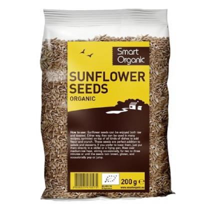 Seminte de floarea soarelui Raw BIO 250g Smart Organic