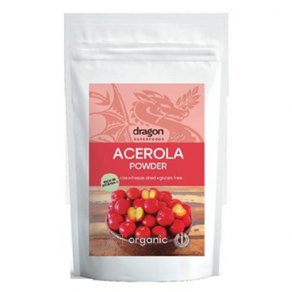 Acerola pulbere BIO 75g Dragon Superfood