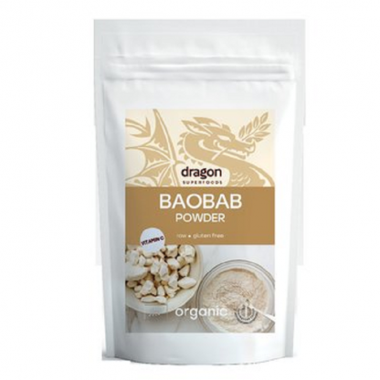 Baobab pulbere raw BIO 100g Dragon Superfood