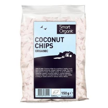 Fulgi RAW de cocos BIO 150g Smart Organic