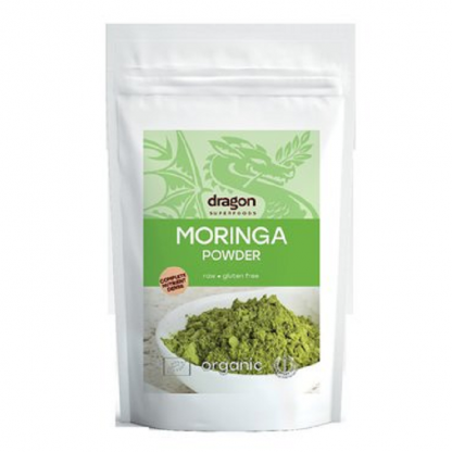Moringa pudra BIO 200g Dragon Superfoods