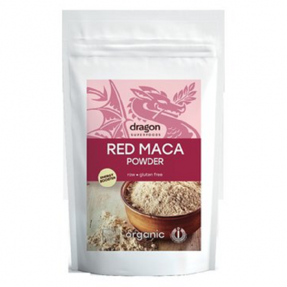 Maca rosie pudra RAW BIO 100g Dragon Superfoods