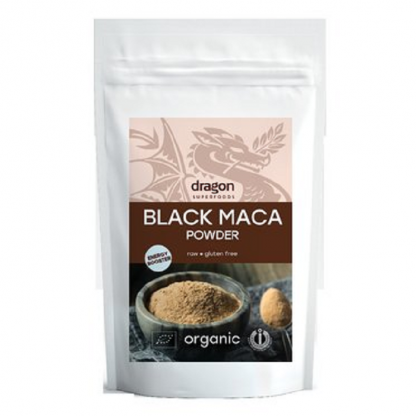 Maca neagra pudra RAW BIO 100g Dragon Superfoods