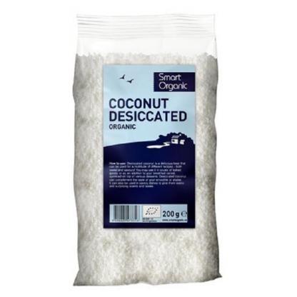 Nuca de cocos macinata BIO 200g Smart Organic