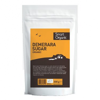 Zahar brun Demerara BIO 300g Dragon Superfood