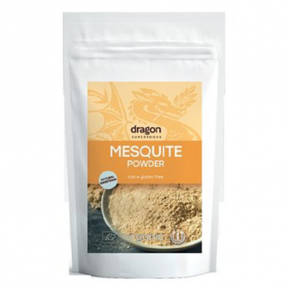 Mesquite pulbere raw BIO 200g Dragon Superfoods