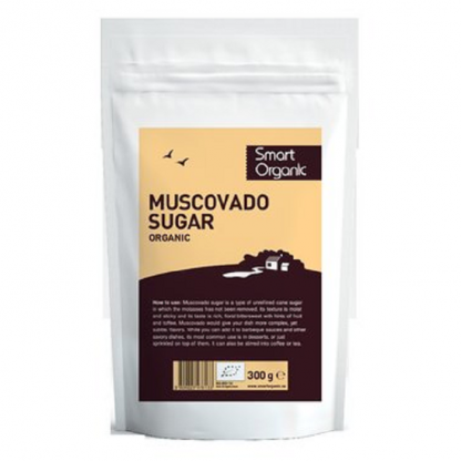 Zahar brun Muscovado BIO 300g Dragon Superfood