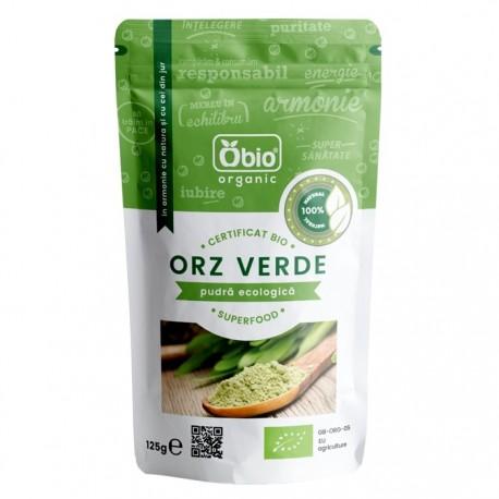 Orz verde pudra BIO Raw Vegan 125g Obio