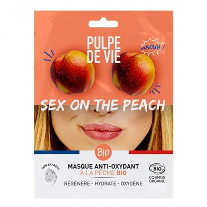 Masca antioxidanta si revitalizanta Sex on the Peach Pulpe de Vie