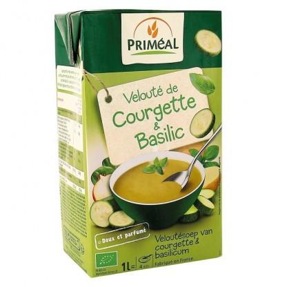 Supa crema cu dovlecei cu busuioc BIO 1L Primeal