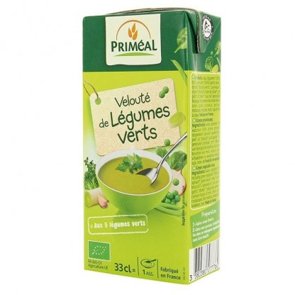 Supa crema de legume verzi BIO 330ml Primeal