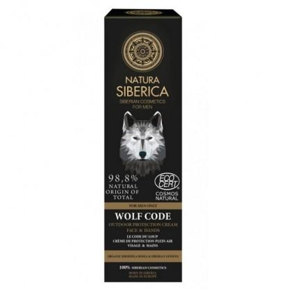 Crema BIO protectie maini si fata pt barbati Wolf Code 80ml Natura Siberica