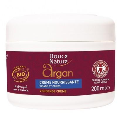 Crema nutritiva cu ulei de argan BIO 200ml Douce Nature