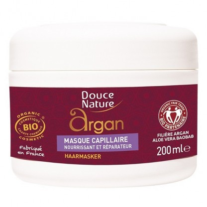 Masca capilara cu ulei de argan 200ml Douce Nature