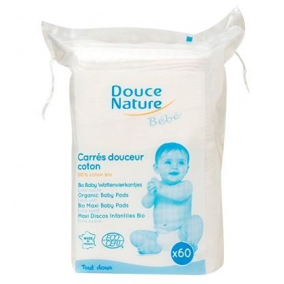 Servetele uscate pentru bebelusi 60buc Douce Nature