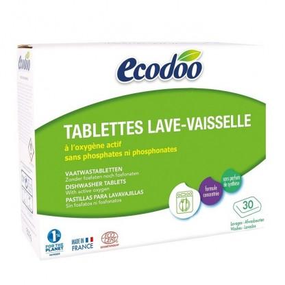 Tablete BIO pentru masina de spalat vase 30x20g Ecodoo