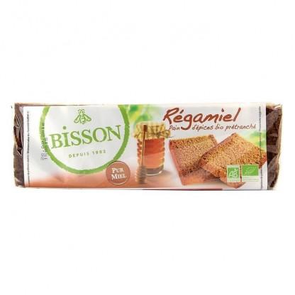 Turta dulce BIO cu 55% miere 300g Bisson Bio