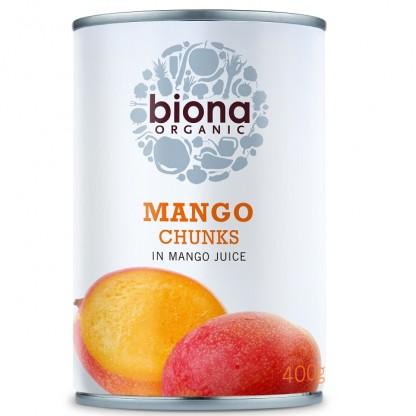 Mango bucati in suc de mango bio 400g Biona