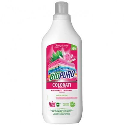 Detergent hipoalergen BIO pentru rufe colorate 1L BioPuro