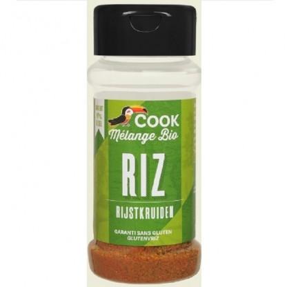 Mix de condimente pentru orez BIO 27g Cook