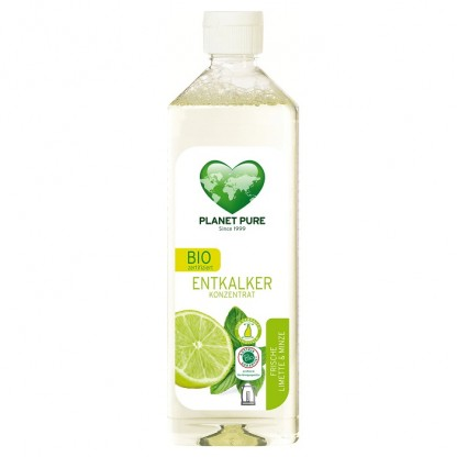 Detartrant BIO cu lime si menta 510ml Planet Pure