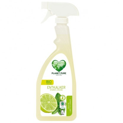 Detartrant BIO cu lime si menta (cu pulverizator) 510ml Planet Pure