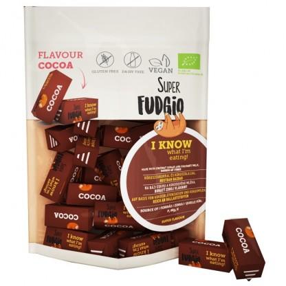 Caramele BIO cu aroma de cacao 150g Super Fudgio