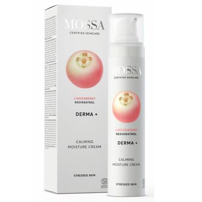 DERMA+ Crema calmanta hidratanta 50ml Mossa Organic