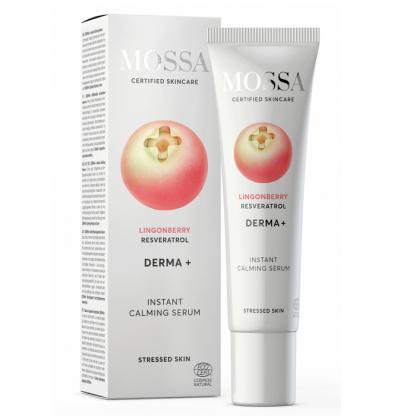 DERMA+ Ser calmant cu efect imediat 30ml Mossa Organic
