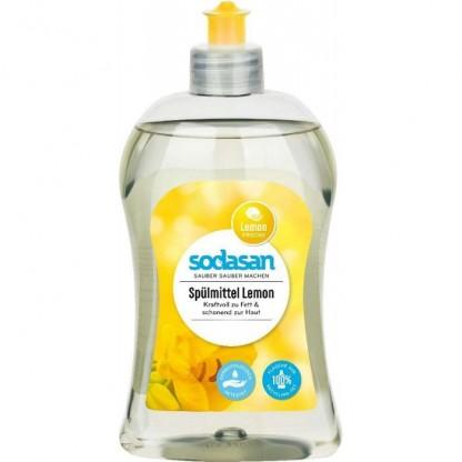Detergent lichid ecologic pentru vase cu lamaie 500ml Sodasan