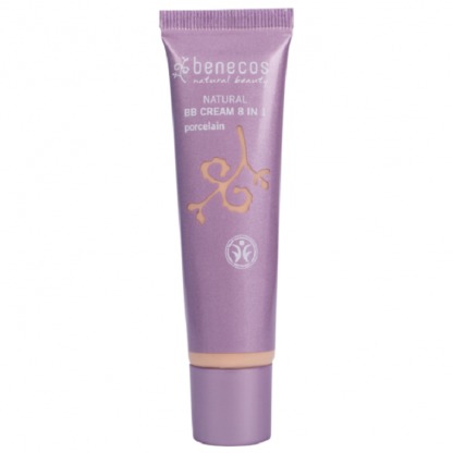 BB Cream BIO 8-in-1 Porcelain (ten deschis) 30ml Benecos