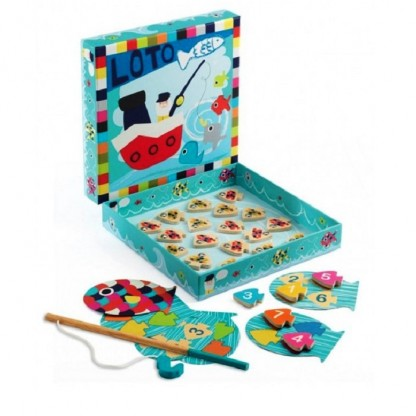 Joc educativ Djeco Navy loto, de la 3 ani