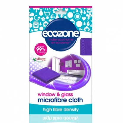 Laveta din microfibra pentru sticla si geamuri 1 buc Ecozone