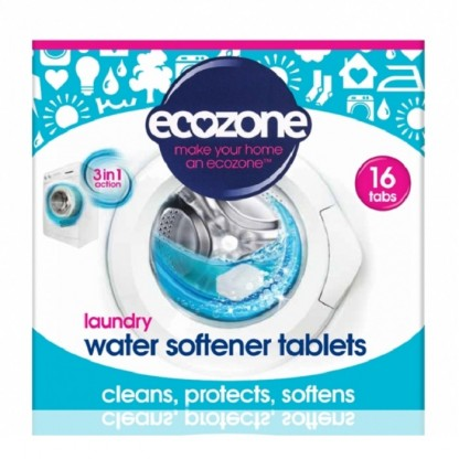 Tablete anticalcar 3 in 1 pt masina de spalat rufe 16buc Ecozone