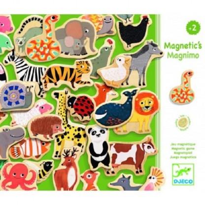 Joc magnetic cu Animale Djeco, de la 2 ani