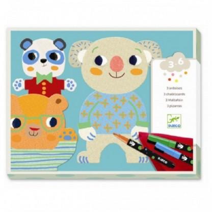 Atelier de desen pentru copii Djeco Cuties, de la 3 ani