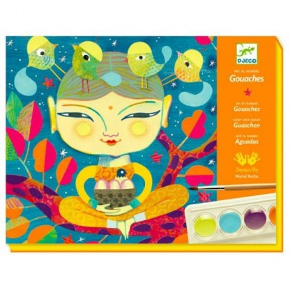 Atelier de pictura India Djeco, de la 7 ani
