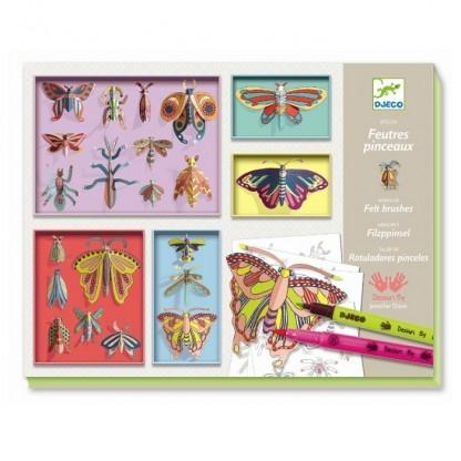 Cabinet de curiozitati Fluturi Djeco, de la 8 ani