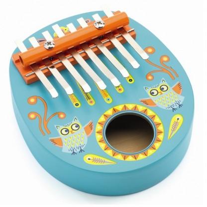 Instrument muzical Kalimba Djeco, de la 4 ani