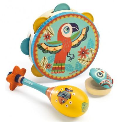 Set instrumente muzicale Djeco, de la 3 ani