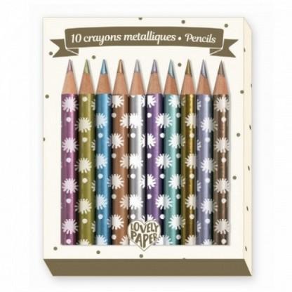 Creioane metalice Djeco Chichi, de la 3 ani