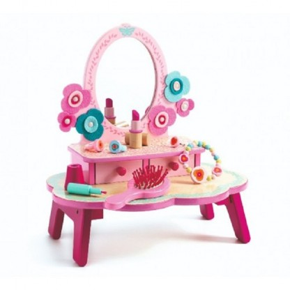 Masuta de toaleta Djeco Flora, de la 4 ani