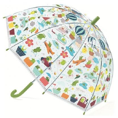 Umbrela colorata pt copii Broscute Djeco