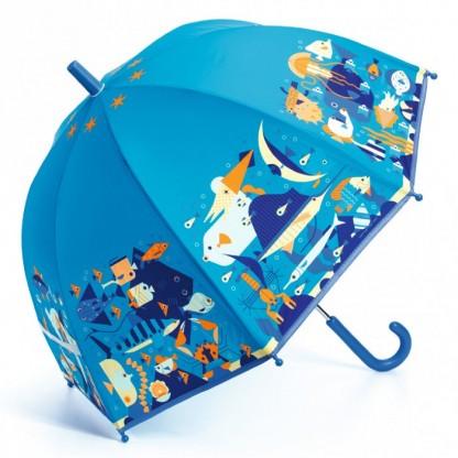 Umbrela colorata pt copii Ocean Djeco