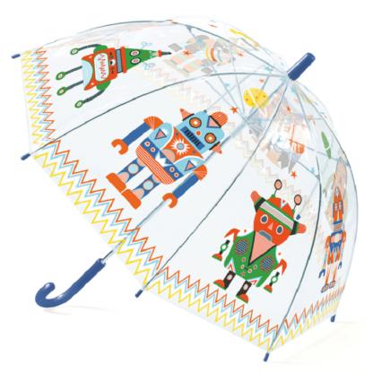 Umbrela colorata pt copii Roboti Djeco