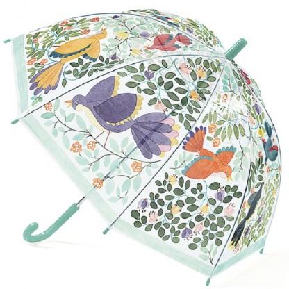 Umbrela colorata pt copii Flori si Pasari Djeco