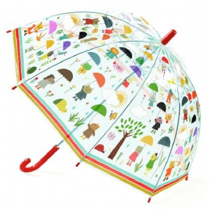 Umbrela colorata pt copii In ploaie Djeco