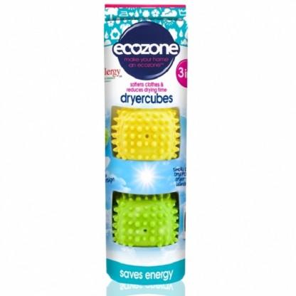 Dryer Cubes - cuburi 3 in 1 pt uscare rapida si catifelarea hainelor 2 buc Ecozone