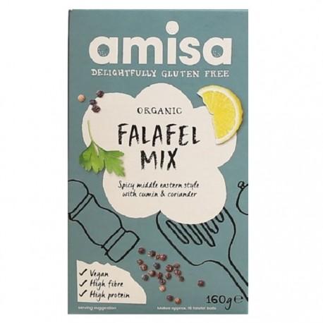 Mix pentru falafel fara gluten BIO 180g Amisa